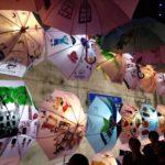 彩繪洋傘活動結合學校還有在地企業大振豐洋傘有限公司,搭配樹孝商圈購物節,讓大家關注在地生活
